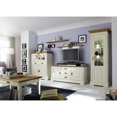 Wohnzimmer Weiß Massiv