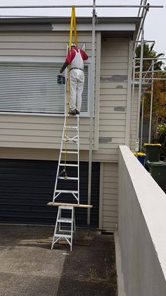 114 Best Ladder Fails Images Ladder Stairs Ladders