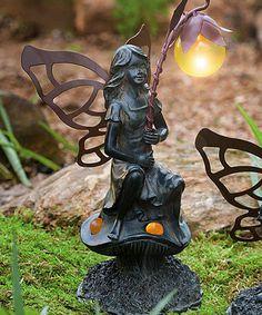 Love this Guider Solar Fairy Figurine on #zulily! #zulilyfinds