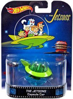 Hot Wheels | The Jetsons Capsule Car