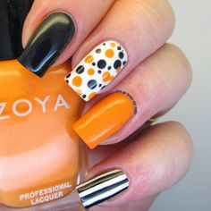 It's all about the polish: AN Monday - theme - black and orange
