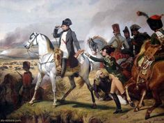 Napoleon at the Battle of Wagram, 5-6 July 1809, by Horace Vernet (1836).