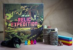 Relic Expedition- An interesting looking game that from the descriptions I have heard makes me think its a bit like Survive: Escape from Atlantis.