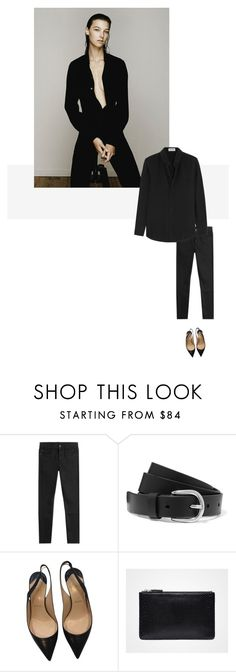 """/"" by darkwood ❤ liked on Polyvore featuring Helmut Lang, Étoile Isabel Marant, Christian Louboutin and Yves Saint Laurent"