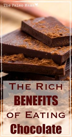 The Rich Benefits of Eating Chocolate |