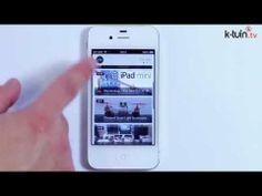#Zeewe. Nos permite entrar desde el #iPhone a nuestra cuenta de YouTube. #iPhone #App