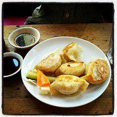 #brixtonvillage Pork and chinise leaf dumplings brixton brixton village city pantry