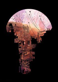 Secret Streets Art Print by David Fleck