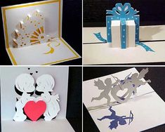 Kirigami for Cards