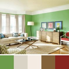 Find This Pin And More On Decoraçao. Best Gren Paint Paint Colors For Living  Room