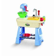 Little Tikes Mudpie Kitchen play set    the kids have this and they love it . hehe hehe