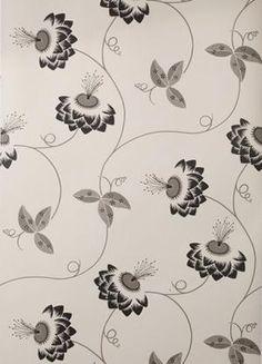 Merlin Wallpaper by British textile designer Neisha Crosland. via the designer's site