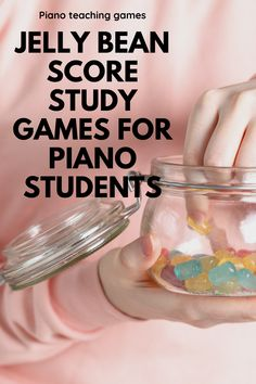 This year's late Easter has created the perfect storm for piano teachers. Not only will kids be pumped up about an upcoming holiday, but they'll be Piano Lessons, Music Lessons, Piano Games, Music Theory Worksheets, Easy Piano Sheet Music, Homemade Instruments, Piano Teaching, Easter Candy, Jelly Beans