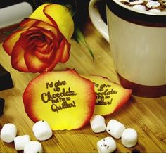 To all the Chocolate Lovers.  speakingpetal.com