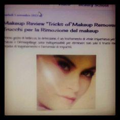 "Makeup Review ""Tricks of Makeup Remover"" - Trucchi per la Rimozione del makeup  http://matutteame.blogspot.com"