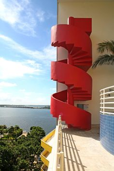 atlantis condominium as featured on miami vice tv show by arquitectonica photo by robin hill (c)