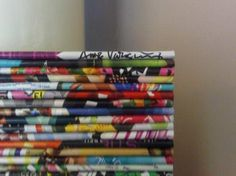 Rolled Magazine Art Recycled Art Recycling Paper & Books