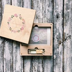 Set of 5 wooden boxes for USB and photo 4x6 (10x15cm) , wedding package, wedding box, packaging for photographers.