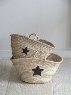 diy: star basket by the style files, via Flickr