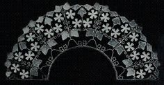 The Textile Blog: Lace Work of Felix Aubert, French art nouveau lace, early 1900's...maybe the last peak off lace craft (?)