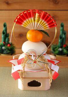 Kagami mochi - Japanese new year's item
