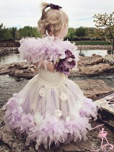 Amazing feather tutu dress!!