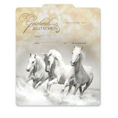 Multicolorgutschein SP229 Pferd Horses, Cards, Gifts, Horse