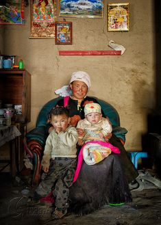 Family Portrait. Tibet