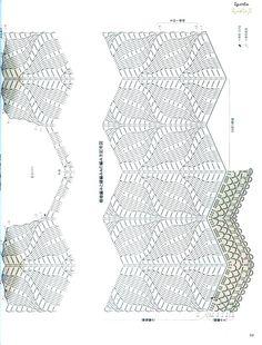 Blatt Muster häkeln - crochet leaf Pattern - Yandeks.Fotki