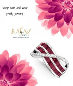 #Winsome 18kt #WhiteGold #Diamond & #Baguette cut #Ruby #creative #Ring By Rasav Jewels  visit #product http://www.rasavjewels.com/…/ring-1104fai-p1271c227c228.html