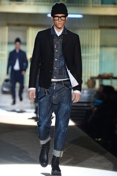 Dsquared2 Men's RTW Fall 2014 - Slideshow - Runway, Fashion Week, Fashion Shows, Reviews and Fashion Images - WWD.com