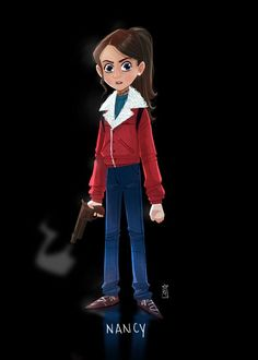 """Nancy Wheeler from """"Stranger Things"""" was another great character. She reminded me a lot of Nancy from """"Nightmare On Elm Street"""". Especially…"""