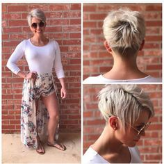 The pixie cut is versatility.Need to find pixie cuts and pixie hairstyles inspiration?Click our list of 80 trending pixie haircuts for women now. Short Pixie Haircuts, Layered Haircuts, Short Hairstyles For Women, Hairstyles Haircuts, Short Hair Cuts, Straight Hairstyles, Short Hair Styles, Curly Haircuts, Razor Cut Hair