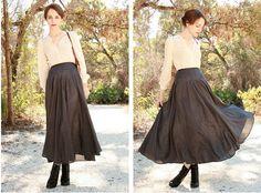 Loving long skirts
