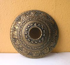 Vintage Brass Replacement Canopy Plate L& by IndustrialHabitat & One 8 Diameter Large Ornate Heavy Brass by AntiqueHunting on Etsy ...