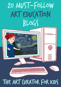 Art Class Curator - Innovative Art Lessons and Art Teacher Inspiration Art Premier, Art Lessons For Kids, Art Education Lessons, Art Curriculum, Teacher Blogs, Teacher Resources, Art Teachers, Teacher Education, Special Education