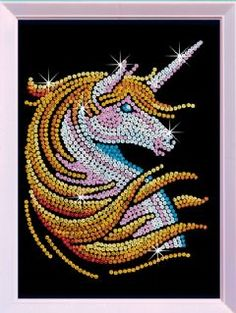 Sequin Art Unicorn Craft Kit From KSG | Hobbies