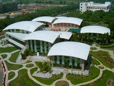 The Infosys Campus in Bhubaneshwar, near Chandaka
