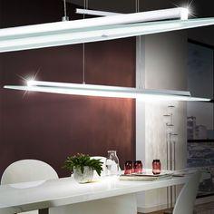 Fancy Watt LED Decken Zug Pendel Leuchte Esstisch H nge Lampe H hen Verstellbar EGLO u