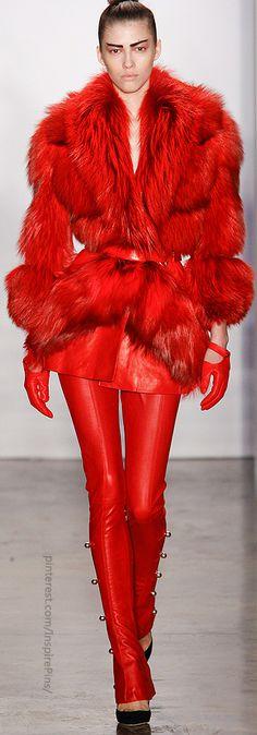 Kevork Kiledjian Jacket & Pants in red