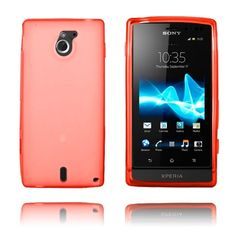 GelCase (Rød) Sony Xperia Sola Deksel Sony Xperia, Iphone