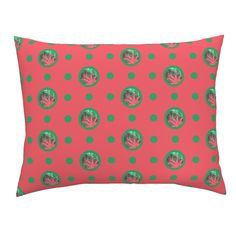 Campine Pillow Sham featuring Pin&Pon Popdawson by joancaronil | Roostery Home Decor
