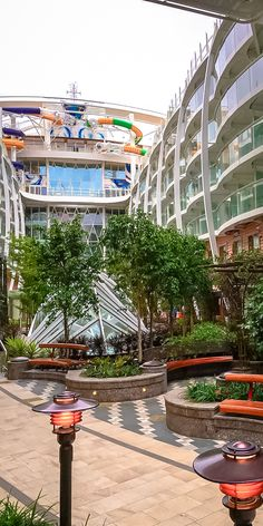 Harmony of the Seas | It's never too sunny to venture out on a romantic stroll through Royal Caribbean's Central Park neighborhood.