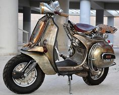 I WANT IT!...Iron Horse Vespa by Pulsar Project