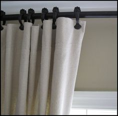Pottery Barn Knock-Off! DROP CLOTH Curtains! $10 per 6'x9' pannel!