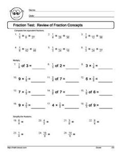 math worksheet : 6th grade math worksheets simplifying fractions  reducing  : Worksheets On Simplifying Fractions