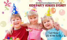 Kids party venues Sydney : Shiny star play center is the best kids party venue and  are provides all kids party arrangements with fun and entertainment so you can celebrate kids party with us and take enjoyment in our play centre and pay only cost-less dues. For more information, you can visit our website: http://www.shinystarplaycentre.com.au/children-birthday-party.html | shonpolack