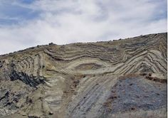 California Palmdale  Example of physical geology - folds/faults