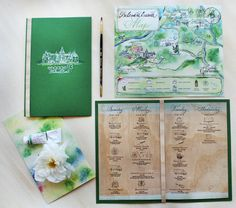 engage!13 at the Biltmore Estate Hand Painted Stationery by Kristy Rice, Momental Designs