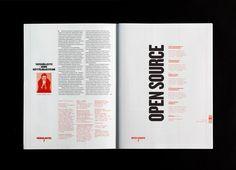 Pretty fantastic editorial design by Lotta Nieminen Art Et Design, Graphic Design Layouts, Book Design, Layout Design, Print Design, Text Design, Magazine Images, Magazine Design, Magazine Layouts